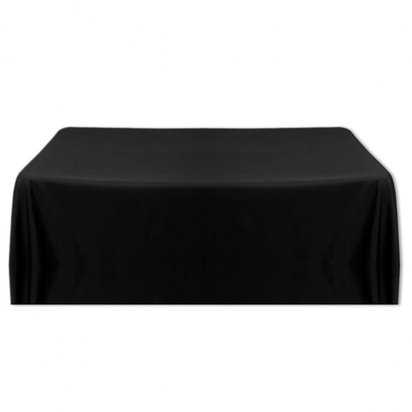 Tischdecke schwarz 130x220 cm