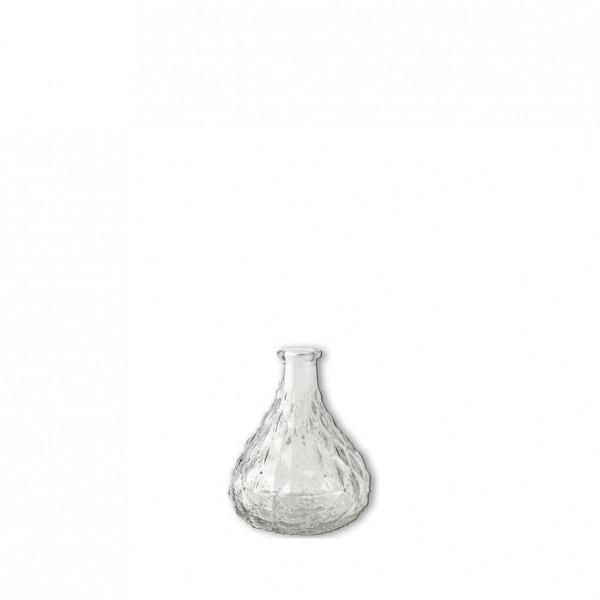 Flasche Kristall bauchig