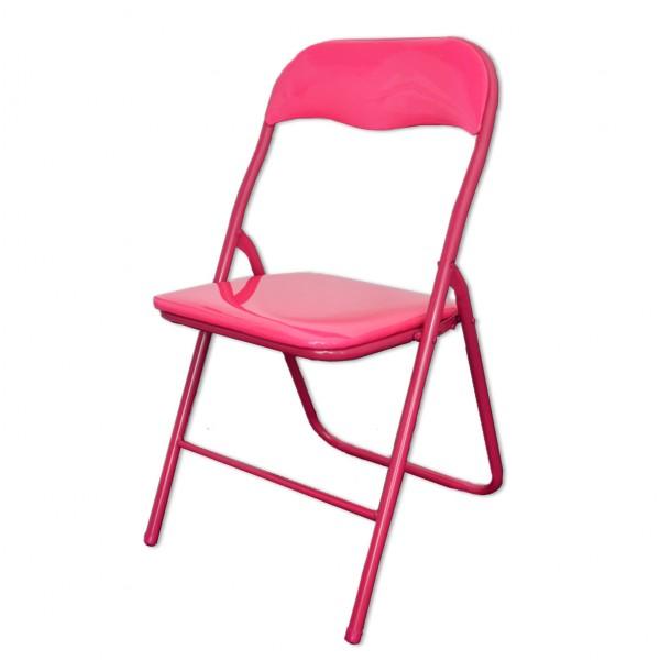 Klappstuhl Pink