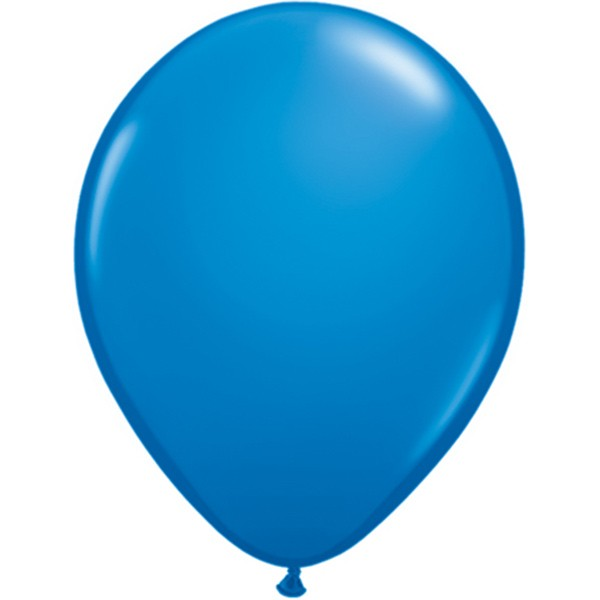 Helium-Luftballon 30cm blau