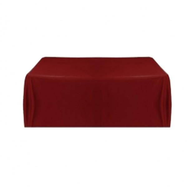 Tischdecke burgund 150x260 cm