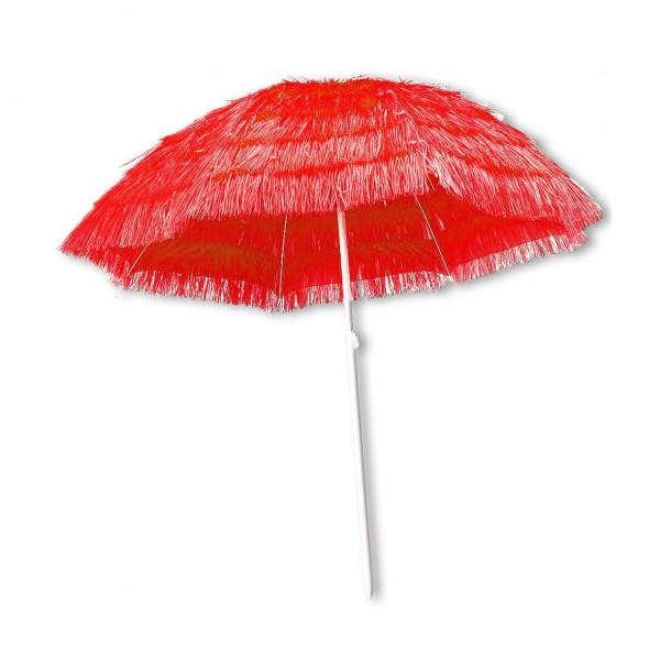 Bast-Schirm Rot