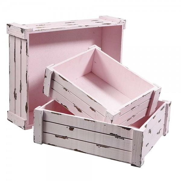 Kisten Set rosa