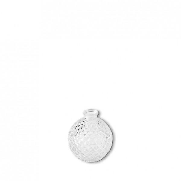 Flasche Kristall Kugelförmig Höhe: 6,5 cm