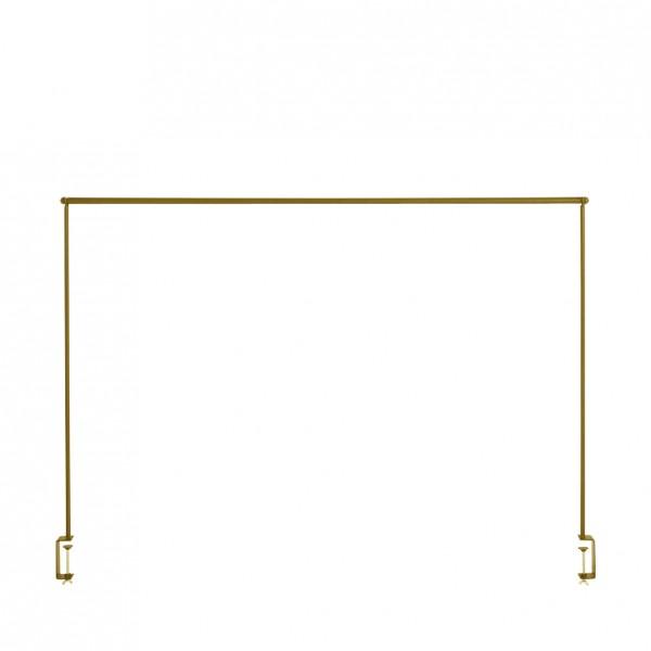 Dekostange für Tisch gold
