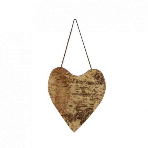 Herz zum Hängen Birke