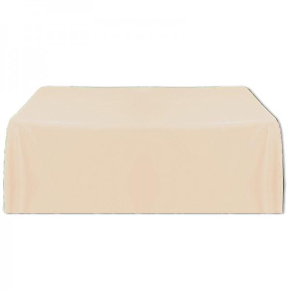 Tischdecke beige 150x260 cm