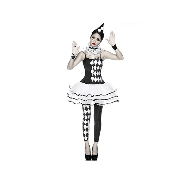Clownkostüm Harlekin