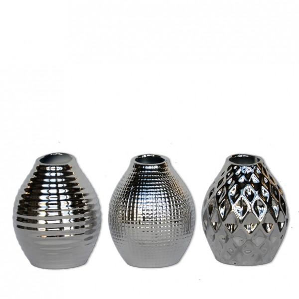 Keramik Vase 3er Set