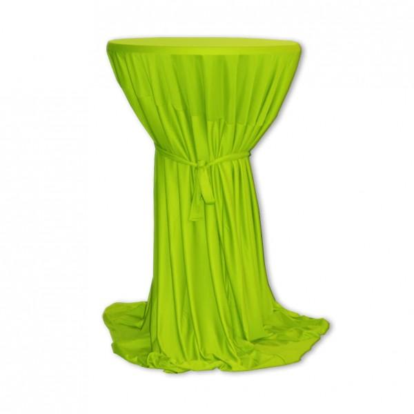 Stehtischhusse Polyester apfelgrün