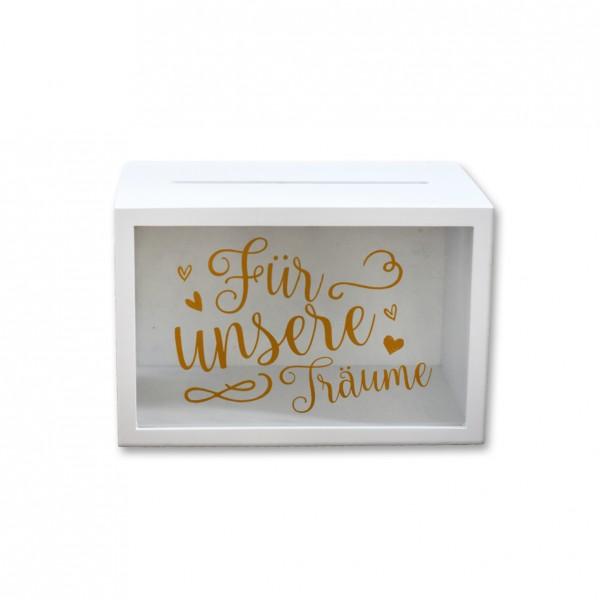 """Kartenbox """"für unsere Träume"""""""