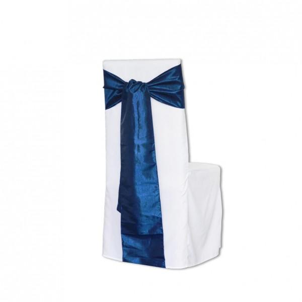 Schleifenband Taft dunkelblau