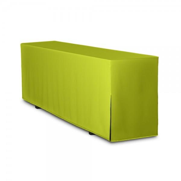 Biertischhusse apfelgrün 50x220 cm
