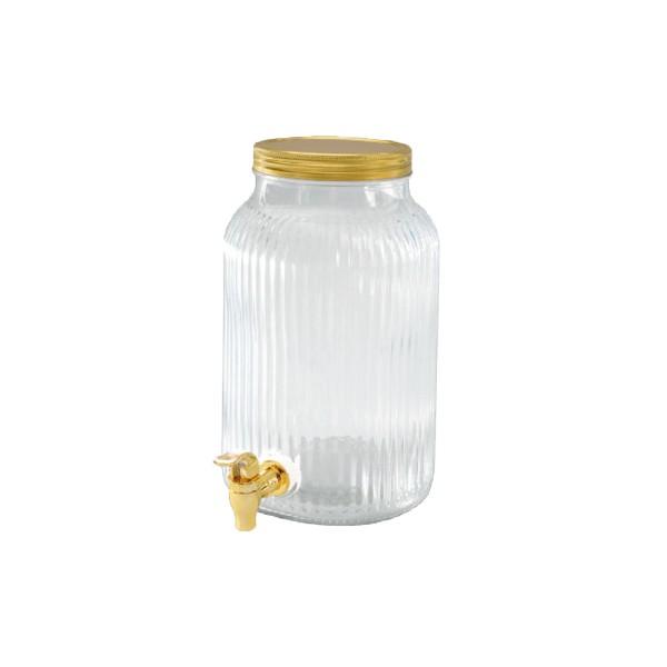 Getränkespender gold