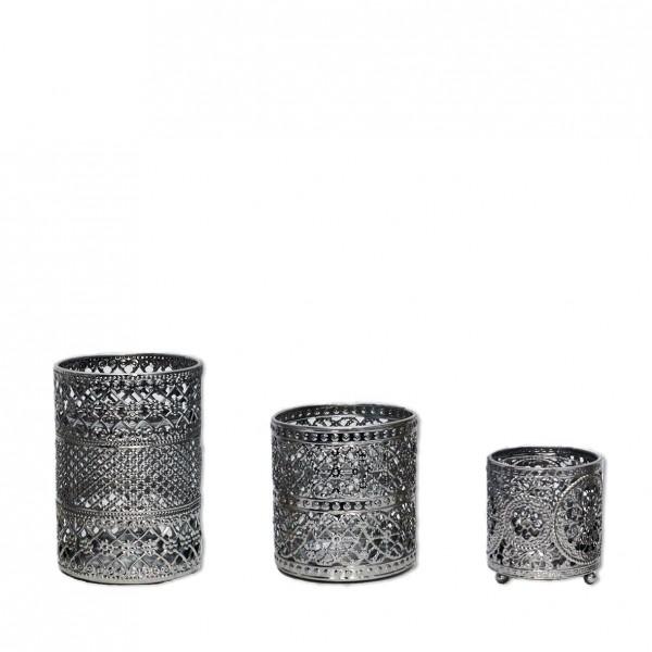 "Metall-Vase ""Doha"""