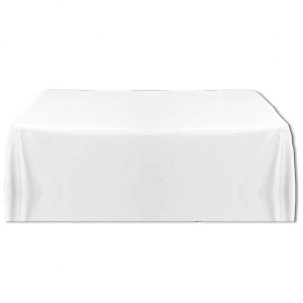 Tischdecke weiss 130x170 cm