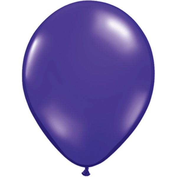 Helium-Luftballon 30cm lila