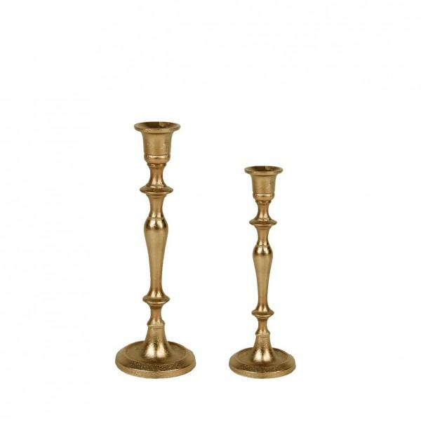 Kerzenständer | Kerzenleuchter | Kerzenhalter 1-arm gold [mieten]