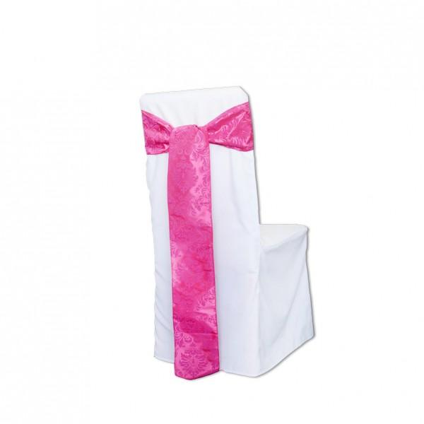 Schleifenband Ornamente Pink Muster