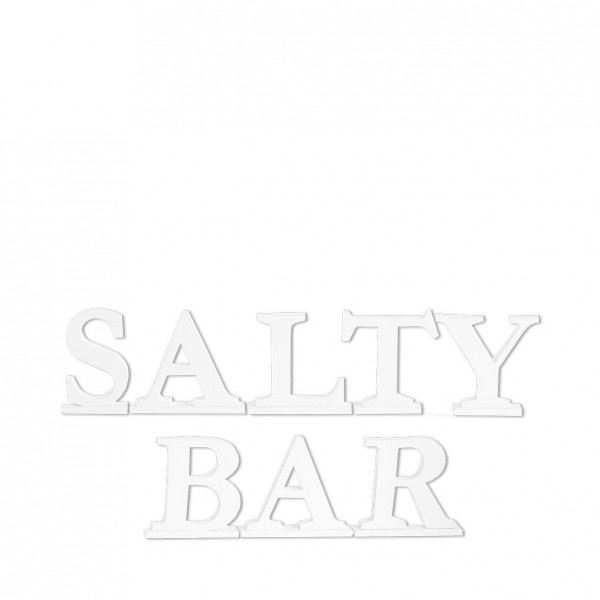 Schrifzug Salty Bar