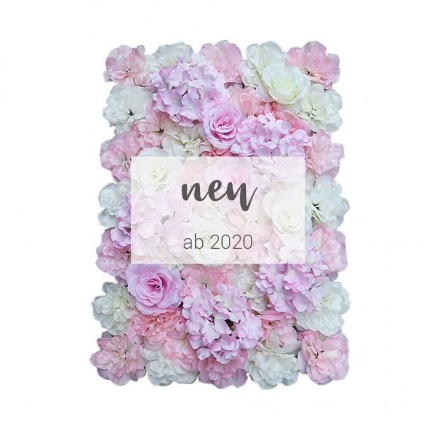 "Blumenwand ""rosa romance"""