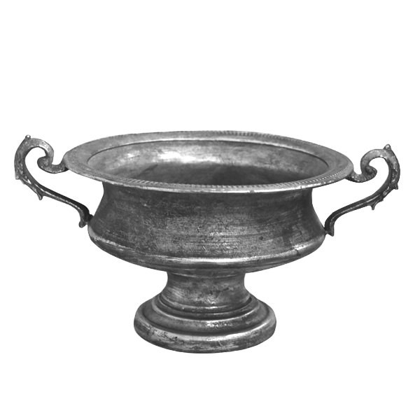 Pokalschale Boho Antik silber
