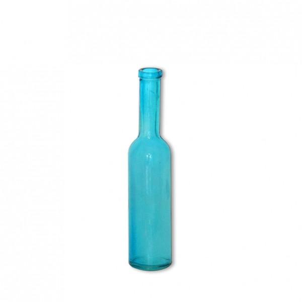 Flaschenvase Aqua Gerade