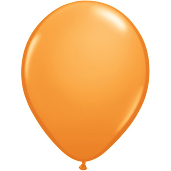 Helium-Luftballon 30cm orange