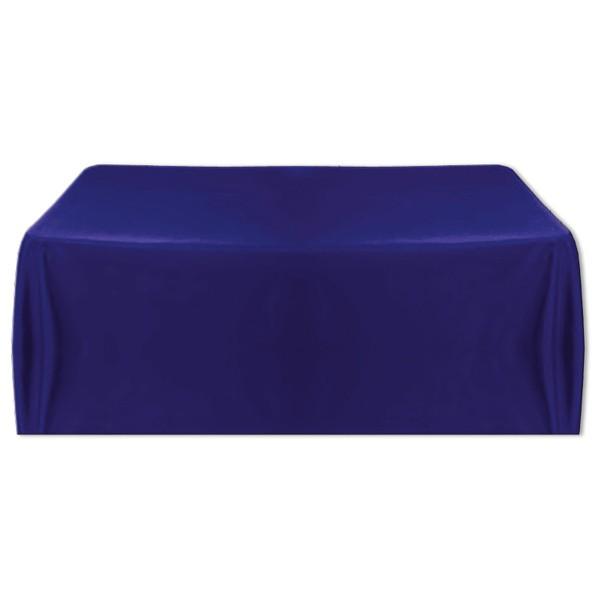 Tischdecke dunkelblau 150x260 cm
