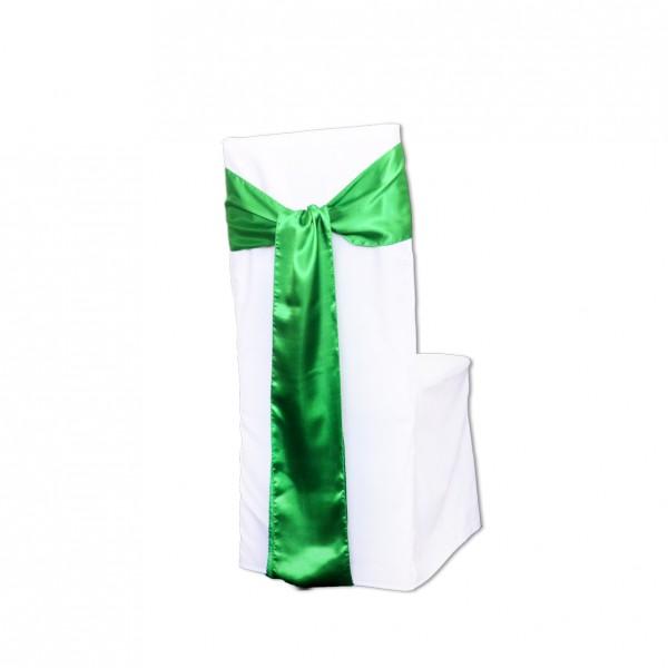Schleifenband Satin grün
