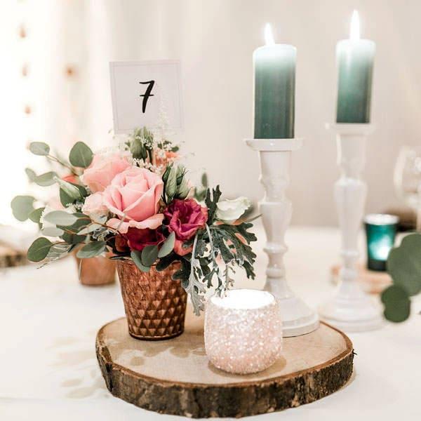 Hochzeitsdekoration Tischdeko Für Die Traumhochzeit Deko