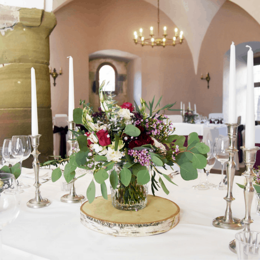 Elegante Pflaume Burg Stettenfels