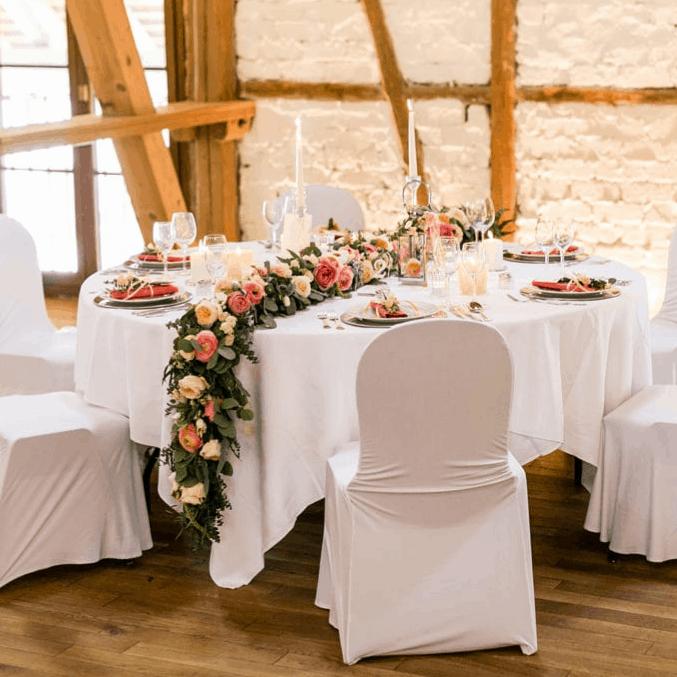 Hochzeit Koralle Tenne Halsberg
