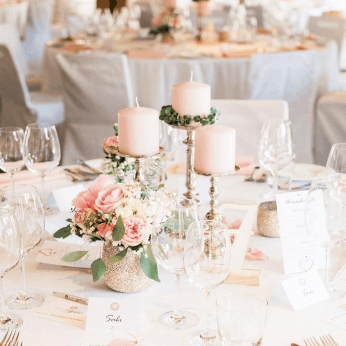 Romantische Hochzeit Steinbachhof